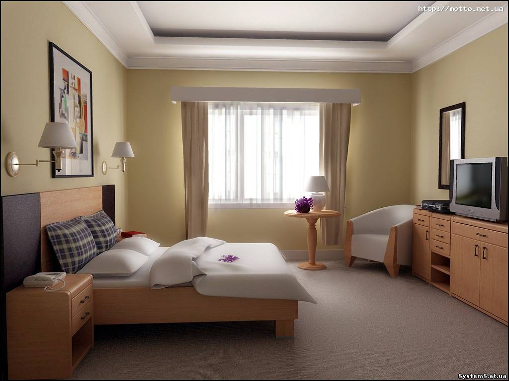 Интерьер ремонта комнаты